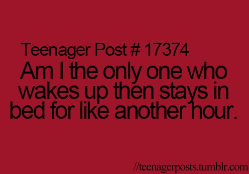I do that all the time! I just sit there playing games on my iPod or something. I have no idea why, I just do.