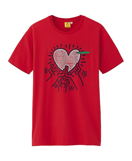 MEN ⁄ PRINTED T-SHIRTS (UT) MEN KEITH HARING GRAPHIC SHORT SLEEVE T-SHIRT $19.90 Write the first review . NEW Keith Haring Keith Haring was one of the great pop artists of the 1980s.