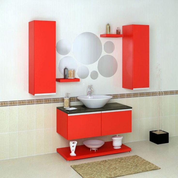 Funky Coloured Bathroom Accessories