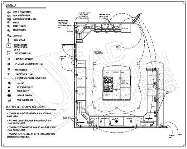 kitchen design plans 3