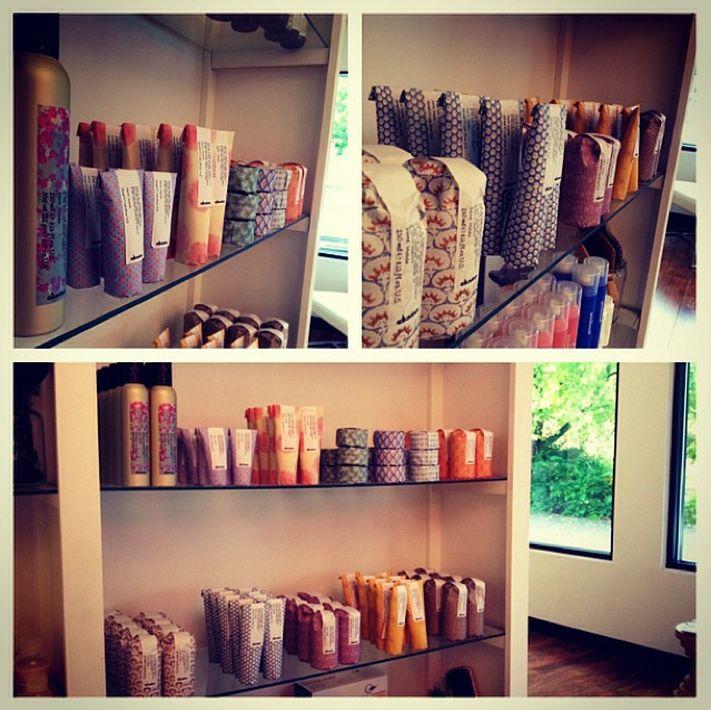 The #MoreInside display at Redhead Salon, via #instagram.