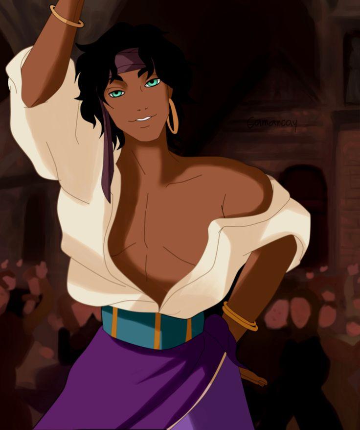 Gerderbent Disney: Esmeralda by GamancayOkami.deviantart.com on @DeviantArt