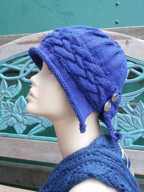 Ravelry: Winfly Hat pattern by Carolyn Doe