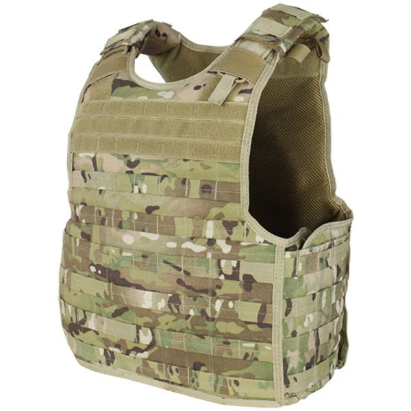 Condor Multicam QPC Military Police Operator SPEAR BALC Plate Carrier Body Armor