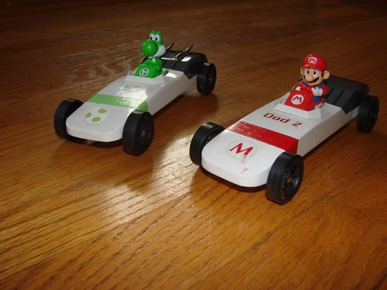 pinewood derby car mario kart pinewood derby pinterest cars