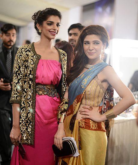 Sanam Saeed and Ayesha Omar