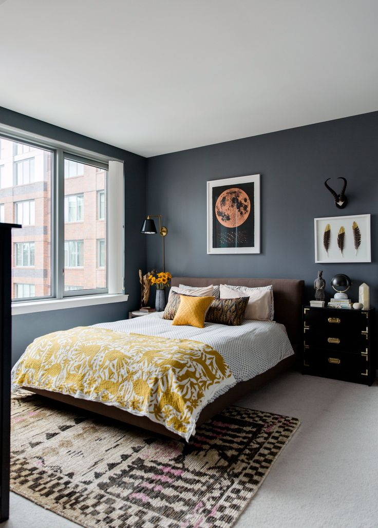 25 best ideas about gold grey bedroom on pinterest grey - Pintura para casas modernas ...