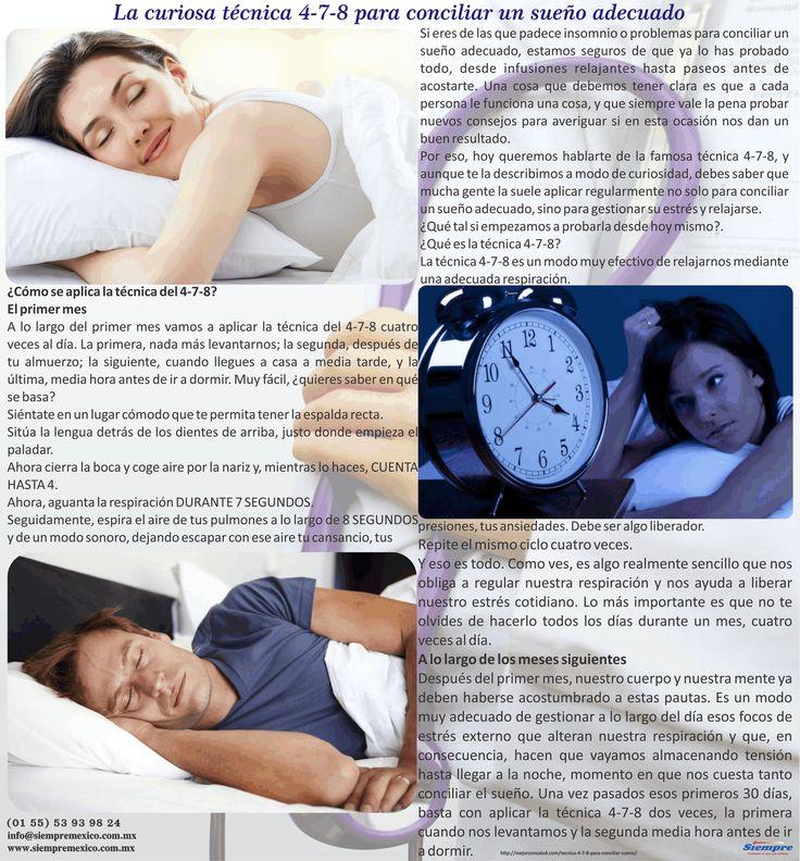 La curiosa técnica 4-7-8 para conciliar un sueño adecuado