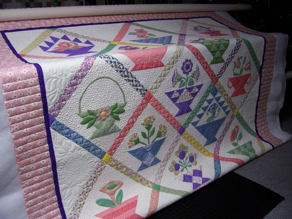 136 best Basket Quilts images on Pinterest | Basket quilt ... : quilting basket - Adamdwight.com