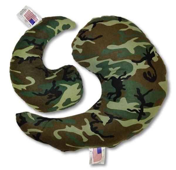 Greenbow™ Camo Support Pillows (Small & Medium)
