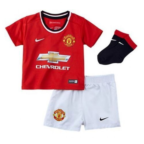 Nike Infant Manchester United 14/15 Home Mini Kit High Risk Red/White