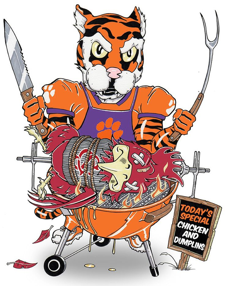 Clemson Tiger vs South Carolina Gamecock