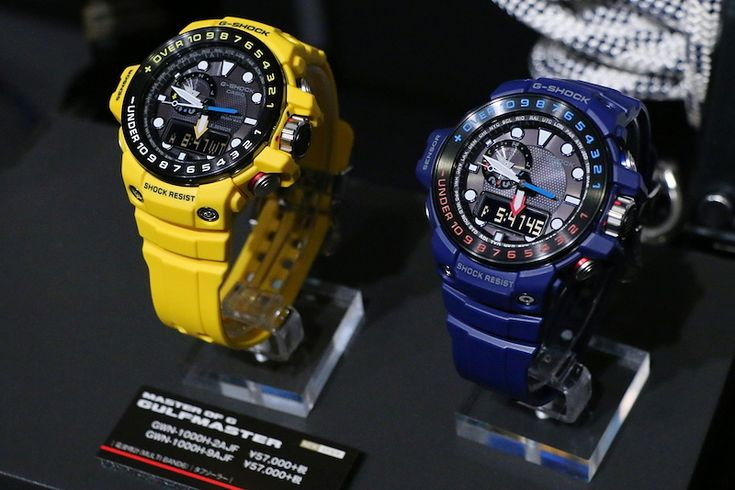 G-Shock High-Contrast color GULFMASTER GWN-1000H-3