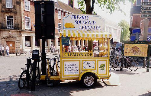 Lemonade Stands, Lemonade Trucks, Food Carts, Foodtruck, Food Trucks, New Nails, Cafes Corner, Stores, Lemonade Carts
