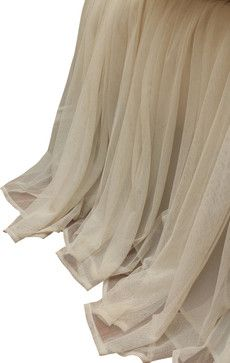 Couture Dreams Whisper Ivory Bed Skirt - traditional - Bedskirts - Urban Loft Online