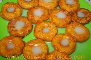 pampoenkoekies in doughnut maker