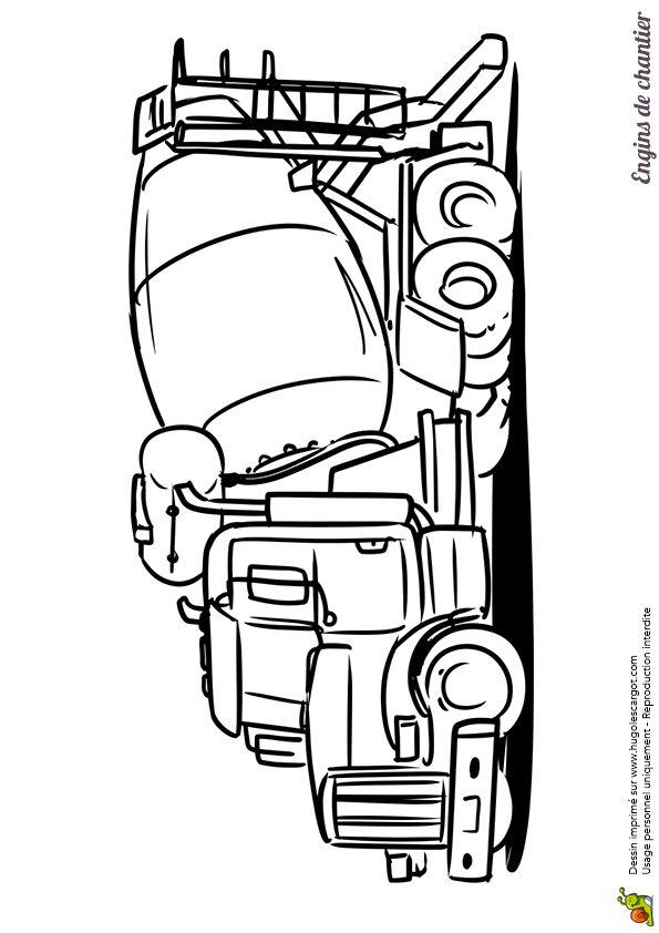 Les 86 meilleures images du tableau coloriages de camions sur pinterest camions chantier et - Coloriage tractopelle ...