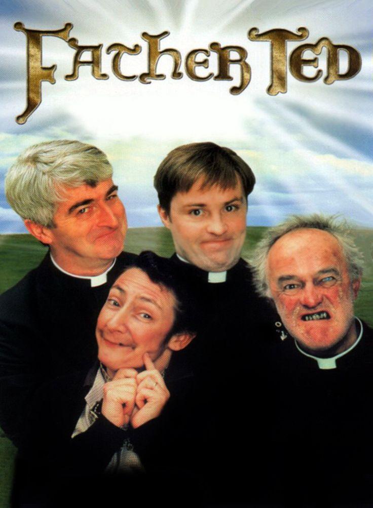 Father Ted est une série télévisée britannico–irlandaise en 24 épisodes de 24 minutes et un épisode de 55 minutes, créée par Graham Linehan et Arthur Mathews et diffusée entre le 21 avril 1995 et le 1er mai 1998 sur Channel 4 et sur RTÉ Two en Irlande. Acclamée par la critique et récompensée par plusieurs BAFTA Awards, elle fait l'objet de rediffusions régulières en Royaume-Uni et en Irlande. En France, la série a été diffusée à partir de 1997 sur Jimmy.