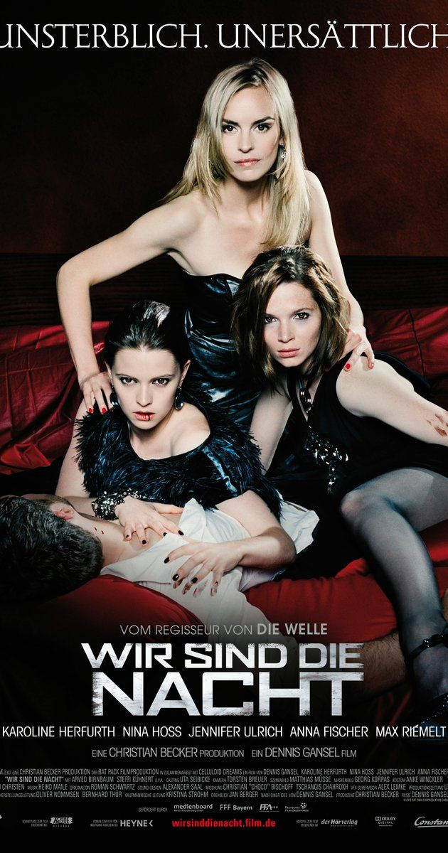 Directed by Dennis Gansel. With Karoline Herfurth, Nina Hoss, Jennifer Ulrich, Anna Fischer. In Berlin, a cop closes in on an all-female vampire trio who just took in a new member, Lena.
