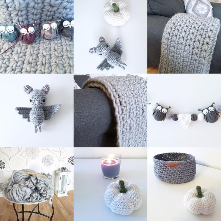 """249 Likes, 13 Comments - Crochet design 💜 Virka (@northernloops) on Instagram: """"Bye bye October and hello November. It seems October was a very grey period, inspired by the…"""""""