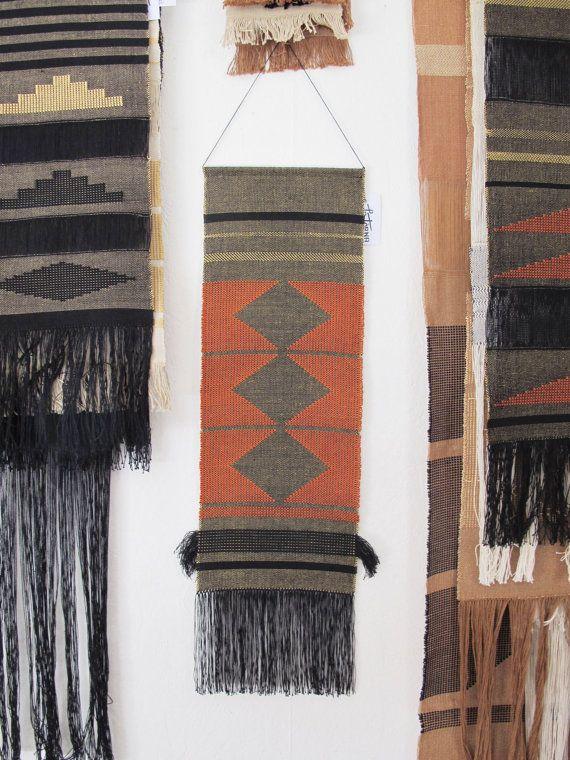 Handwoven wall hanging/ Fiber art/ Tapestry/ Weaving/ by LaTorna