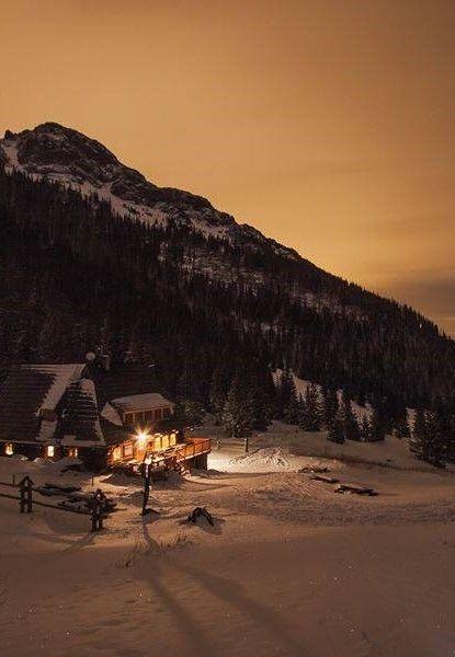Mountain shelter in Kondratowa Valley,Tatry Mountains. Poland