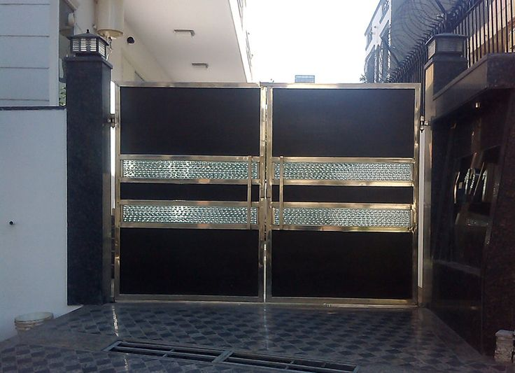 Manufacturer of Stainless Steel Main Gates #Stainless_Steel_Toughened_Glass_Main_Gates and #Stainless_Steel_Wooden_Main_Gates_in_Delhi_Gurgaon_NCR #CallNow9818006283 Creative SS Fabrications