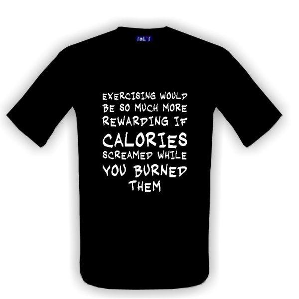 Tričko s potiskem excercising  - na aerobic