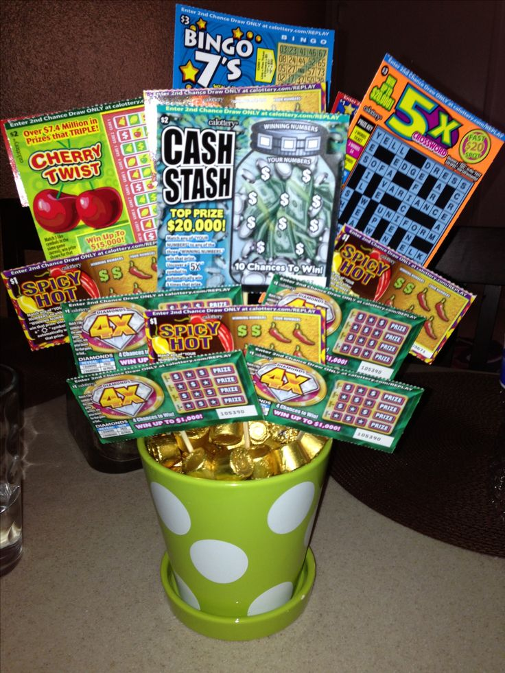 142 best Lottery Ticket Gift/Ideas images on Pinterest | Lottery ...