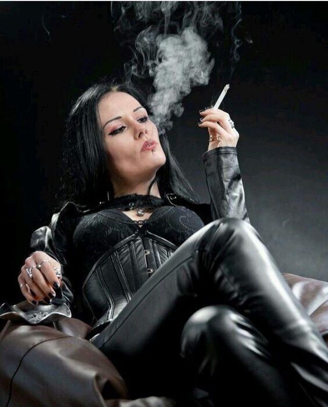 Beautiful Mistress Cigar Smoking The Cigarmonkeys