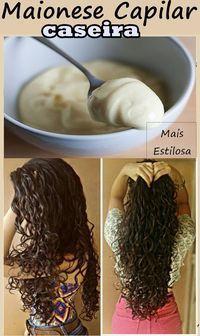 Maionese Capilar Caseira: Tratamento POWER para cabelos ressecados! #maionesecapilar #maionesecapilarcaseira #nutrição #cc #nutriçãocapilar #diy #façavocemesma