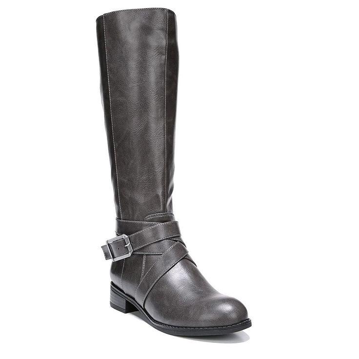 LifeStride Subtle Women's Knee High Boots, Size: 10 W Wc, Dark Grey