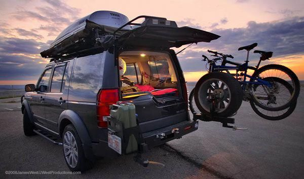 Want To Know More About Motorcycle Camping Trailer Please Click Here To Read More Motorcyclecamping Land Rover Discovery Land Rover Luxury Cars Range Rover