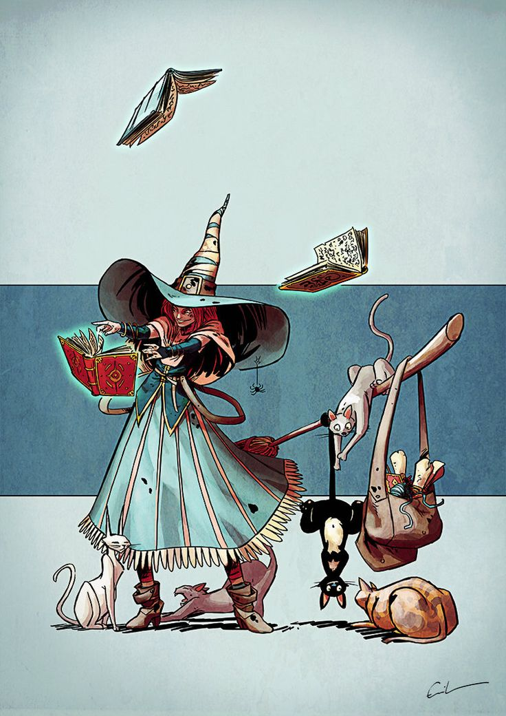 Character Design Challenge Ideas : Character design challenge wizards and witches by