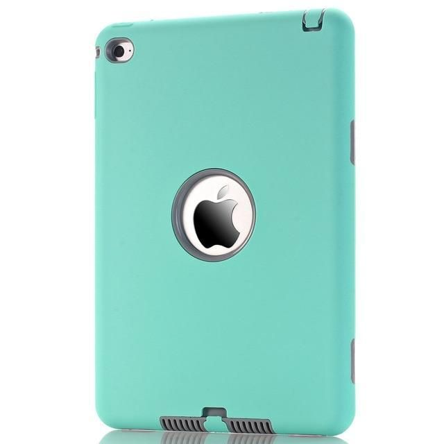 Case For Ipad Mini 4 A1538 A1550 7 9 Inch Retina Cases Kids Safe Shockproof Heavy Duty Soft Silicone Hard Pc Full Protect Covers Na In 2020 Ipad Mini Ipad Stylus Pen