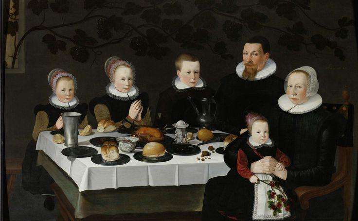 Familieportret, anoniem, 1627