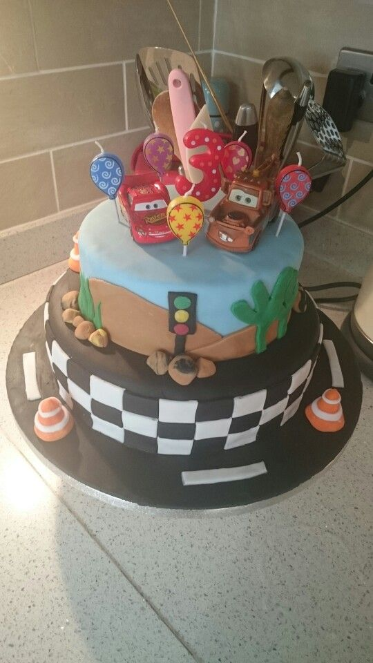 Xaves 3rd birthday cake