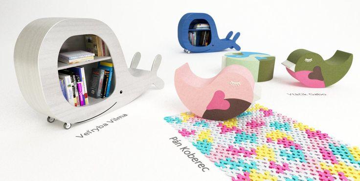 Štýlový detský nábytok z dreva | Villo.in | Produkty