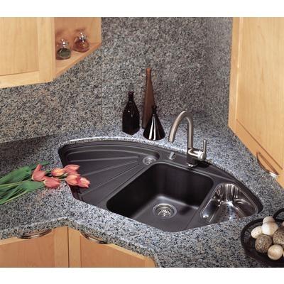 blanco silgranit natural granite corner style topmount sink anthracite about at home depot versatile corner or standard counter