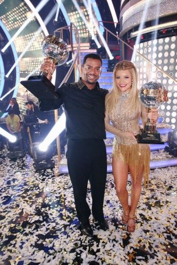 I was so excited for him! Alfonso Ribeiro Wins 'Dancing With The Stars' 2014
