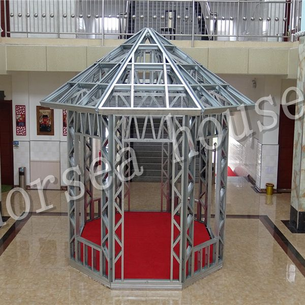 steel structure summer house, building a house ideas