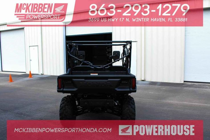 New 2016 Honda Pioneer 1000 SXS 3 Passenger ATVs For Sale in Florida. 2016 HONDA Pioneer 1000 SXS 3 Passenger, GET A FREE ROOF WITH THE PURCHASE OF YOUR PIONEER 1000 , ONLY AT MCKIBBEN POWERSPORT HONDA!McKibben Powersport Honda is a family owned and operated level 5 Honda Powerhouse dealership in Winter Haven, Florida. We are located at 3699 US HWY 17 N Winter Haven Fl, 33881 between US HWY 92 and Havendale Blvd. We proudly serve Polk county and the surrounding areas, to include Lakeland…