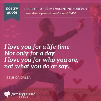 Short Valentine Poems