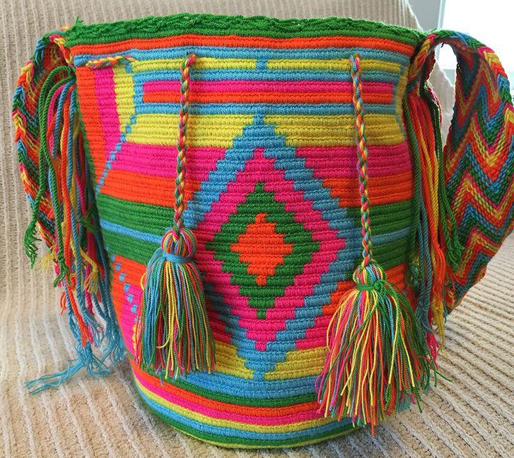 A personal favorite from my Etsy shop https://www.etsy.com/listing/226079478/wayuu-bag-mochila-hand-woven-ship