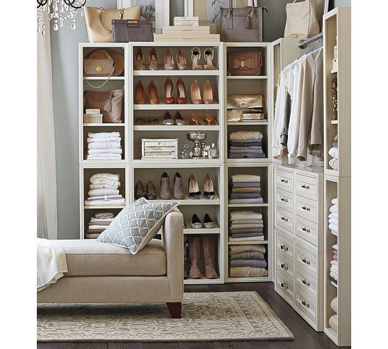 Beautiful Build Your Own   Sutton Modular Closet Collection | Pottery Barn