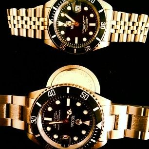Rolex Watches upgraded by Royal Custom Timepieces  http://www.royal-custom.com