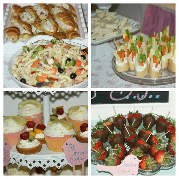 baby shower food. Want to remember to do the ranch/veggie in bread thing