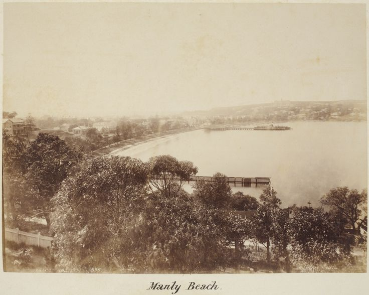 Manly Beach, 1880s