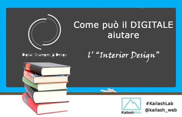 """L'origine del progetto, gli obiettivi e il metodo. Ci raccontiamo a KailashWeb per il bellissimo progetto #KailashLab   """"Il settore dell'#InteriorDesign può amplificare le sue potenzialità se saprà utilizzare al meglio le strategie di comunicazione nel web. Digital Strategies for DESIGN nasce per questo. ...""""  >> Leggi l'intervista a #DSforDESIGN http://www.dsfordesign.it/intervista_interior-design_kailashlab/"""