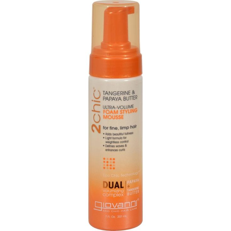 Giovanni Hair Care Products 2chic Style Mousse - Ultra-volume - 7 Fl Oz #HairCareBrands